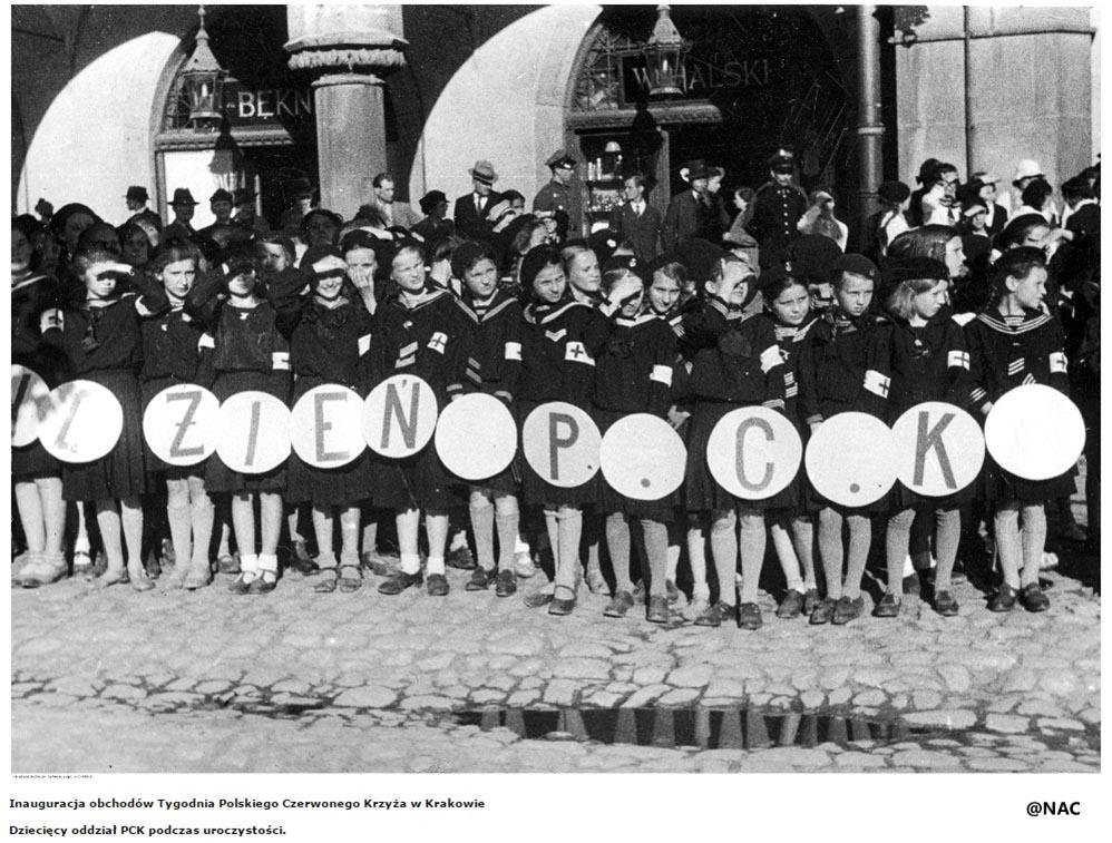 Inauguracja obchodów Tygodnika PCK wKrakowie